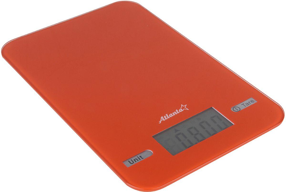 Atlanta ATH-6212, Orange весы кухонныеATH-6212 orangeКухонные электронные весы Atlanta ATH-6212 - незаменимые помощники современной хозяйки. Они помогут точно взвесить любые продукты и ингредиенты. Кроме того, позволят людям, соблюдающим диету, контролировать количество съедаемой пищи и размеры порций. Предназначены для взвешивания продуктов с точностью измерения 1 грамм.