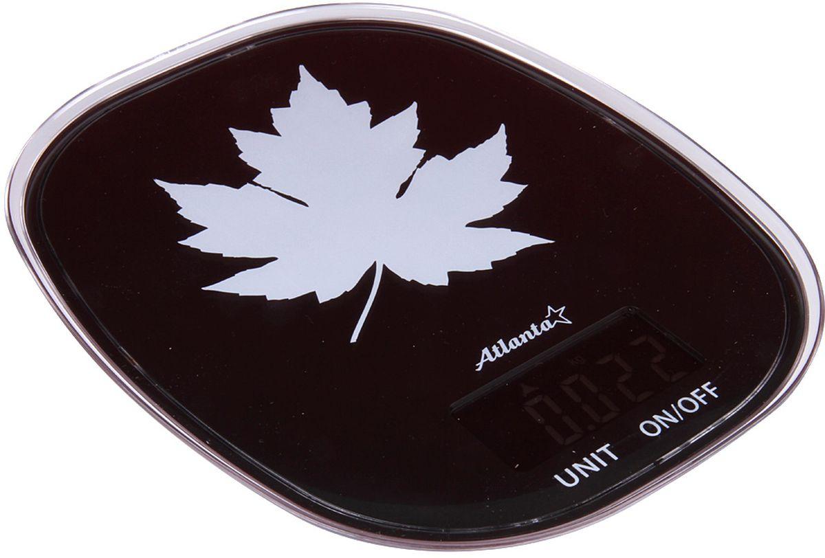 Atlanta ATH-6209, Black весы кухонные