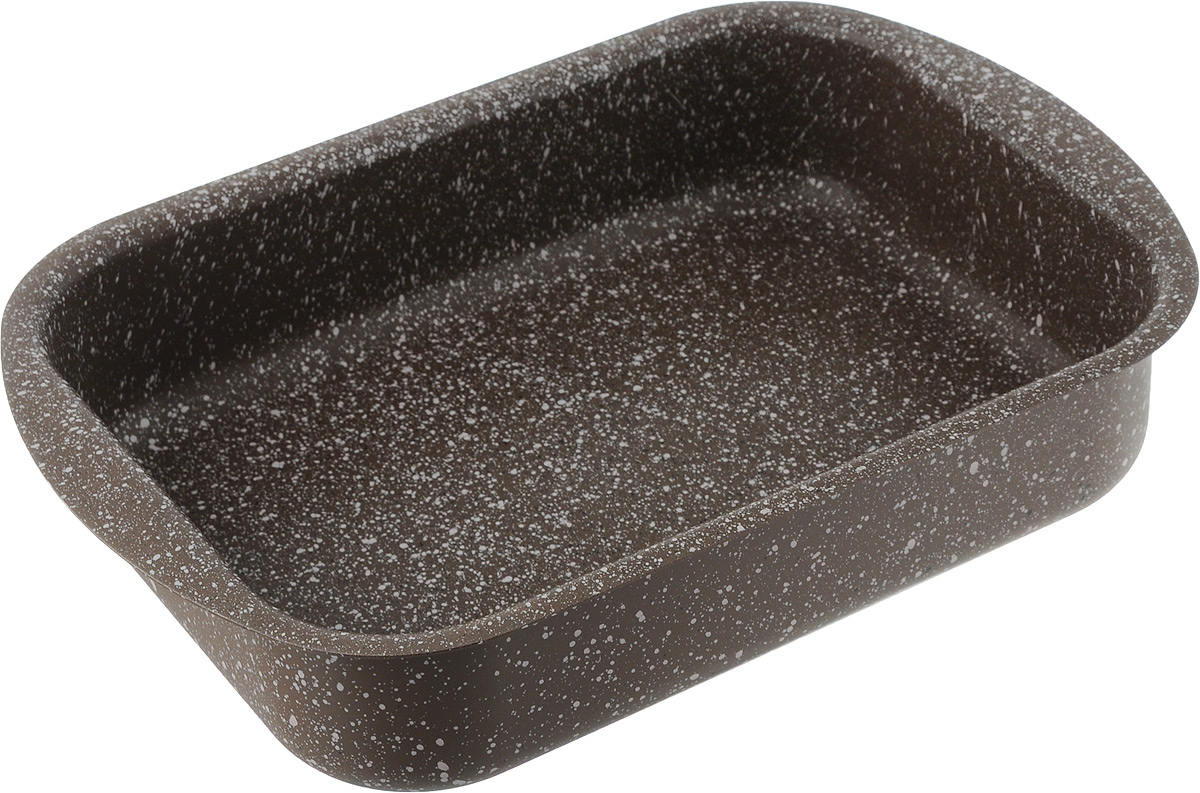 Форма для запекания Fissman Модерн, с антипригарным покрытием, 25 x 18 х 6 смAL-4996.25Форма для запекания Fissman изготовлена из качественного алюминия с антипригарным покрытием TouchStone. Не содержит в составе вредных веществ. Одним из главных преимуществ является система многослойного сверхпрочного антипригарного покрытия TouchStone, состоящего из нескольких слоев натуральной каменной крошки на основе минеральных компонентов.Такая форма найдет свое применение для выпечки большинства кулинарных шедевров. Форма равномерно и быстро прогревается, выпечка пропекается равномерно. Благодаря антипригарному покрытию, готовый продукт легко вынимается, а чистка формы не составит большого труда. Какое бы блюдо вы не приготовили, результат будет превосходным! Форма подходит для использования в духовке с максимальной температурой 240°С. Чтобы избежать повреждений антипригарного покрытия, не используйте металлические или острые кухонные принадлежности. Разрешена мойка в посудомоечной машине. Размер формы (по верхнему краю): 25 x 18 см.Высота стенки формы: 6 см.