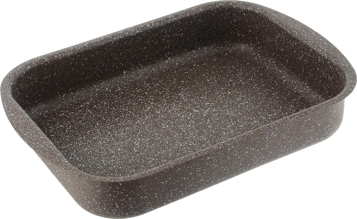 Форма для запекания Fissman Модерн, с антипригарным покрытием, 30 х 22 х 6 смAL-4997.30Форма для запекания Fissman изготовлена из качественного алюминия с антипригарным покрытием TouchStone. Не содержит в составе вредных веществ. Одним из главных преимуществ является система многослойного сверхпрочного антипригарного покрытия TouchStone, состоящего из нескольких слоев натуральной каменной крошки на основе минеральных компонентов.Такая форма найдет свое применение для выпечки большинства кулинарных шедевров. Форма равномерно и быстро прогревается, выпечка пропекается равномерно. Благодаря антипригарному покрытию, готовый продукт легко вынимается, а чистка формы не составит большого труда. Какое бы блюдо вы не приготовили, результат будет превосходным! Форма подходит для использования в духовке с максимальной температурой 240°С. Чтобы избежать повреждений антипригарного покрытия, не используйте металлические или острые кухонные принадлежности. Разрешена мойка в посудомоечной машине. Размер формы (по верхнему краю): 30 х 22 см.Высота стенки формы: 6 см.