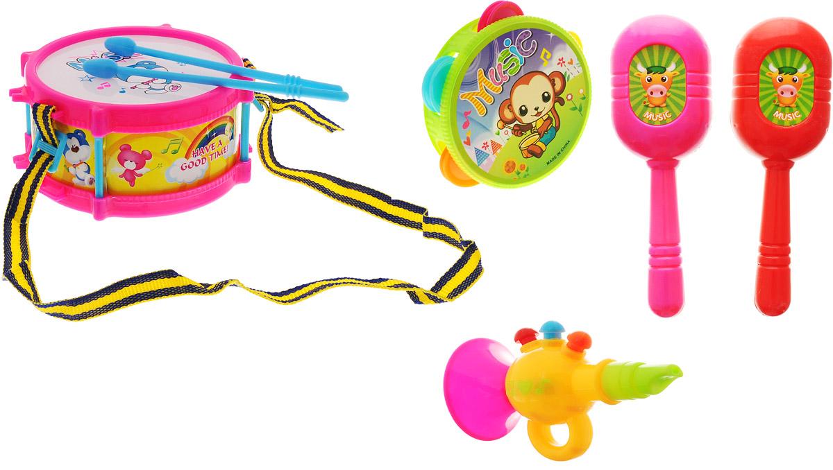 Veld-Co Набор музыкальных инструментов 5 предметов veld co игровой набор с куклой детский доктор