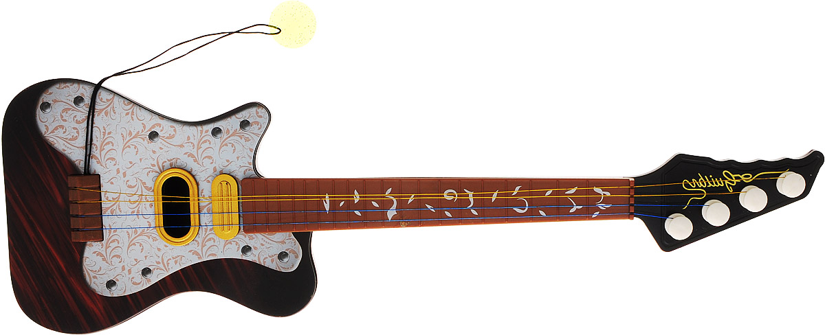 Veld-Co Гитара струнная цвет серый коричневый veld co бубен и металлофон