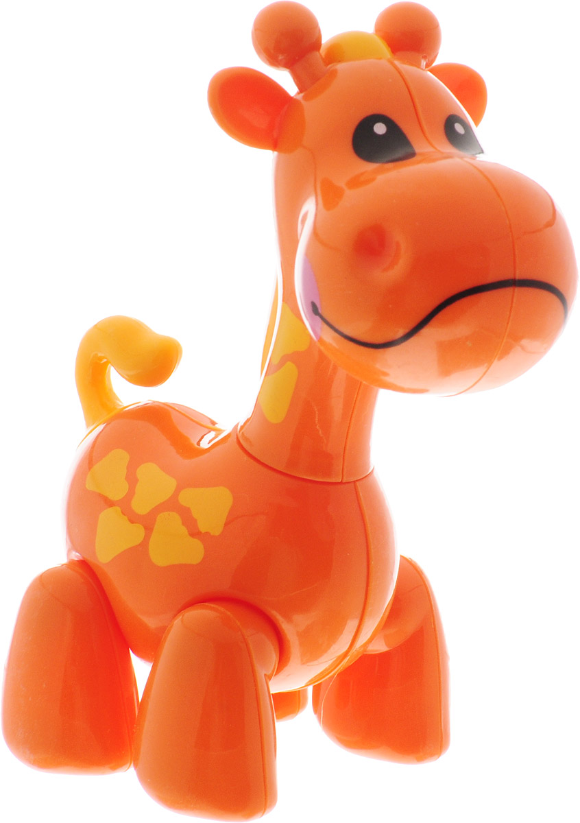 Ути-Пути Развивающая игрушка Жираф цвет оранжевый цена