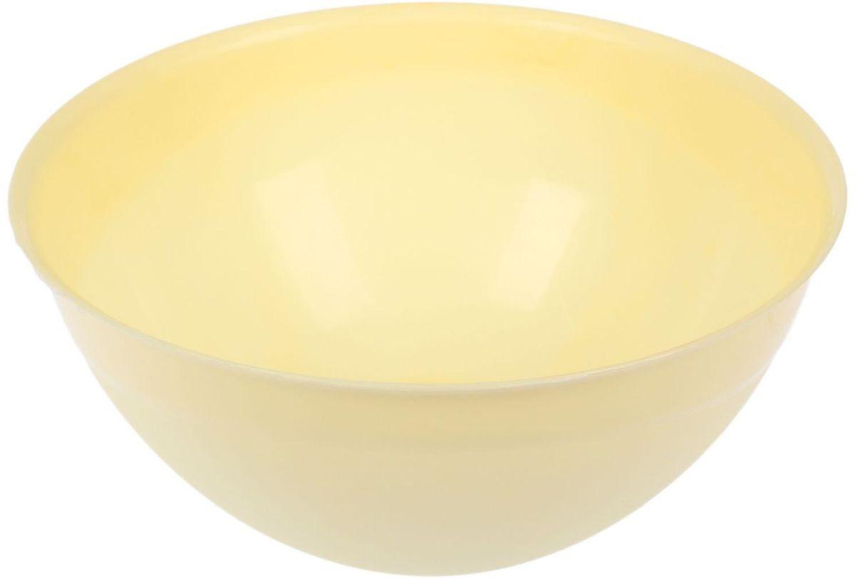 Миска Fimako, цвет: лимонный, 5 л2331336Миска Fimako, изготовленная из высококачественного пластика, имеет круглую форму. Изделие очень функционально, оно пригодится на кухне для самых разнообразных нужд: в качестве салатника, миски, тарелки и многого другого.Диаметр (по верхнему краю): 28 см.Высота стенки: 13 см.