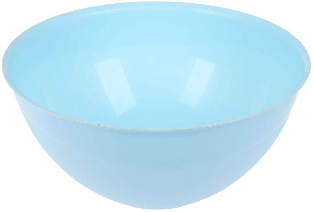 Миска Fimako, цвет: голубой, 5 л2331337Миска Fimako, изготовленная из высококачественного пластика, имееткруглую форму. Изделие оченьфункционально, оно пригодится на кухне для самых разнообразных нужд: вкачестве салатника, миски, тарелки имногого другого. Диаметр (по верхнему краю): 28 см. Высота стенки: 13 см.