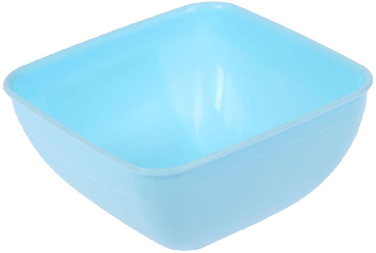 Салатник Fimako, цвет: морская волна, 500 мл2331340Салатник Fimakoвыполнен из прочного пищевого пластика. Изделие отлично подойдет как для холодных, так и для горячих блюд. Его удобно использовать дома или на даче, брать с собой на пикники и в поездки. Отличный вариант для детских праздников. Такой салатник не разобьется и будет служить вам долгое время.С посудой и кухонной утварью Fimako приготовление еды и сервировка стола превратятся в настоящий праздник.