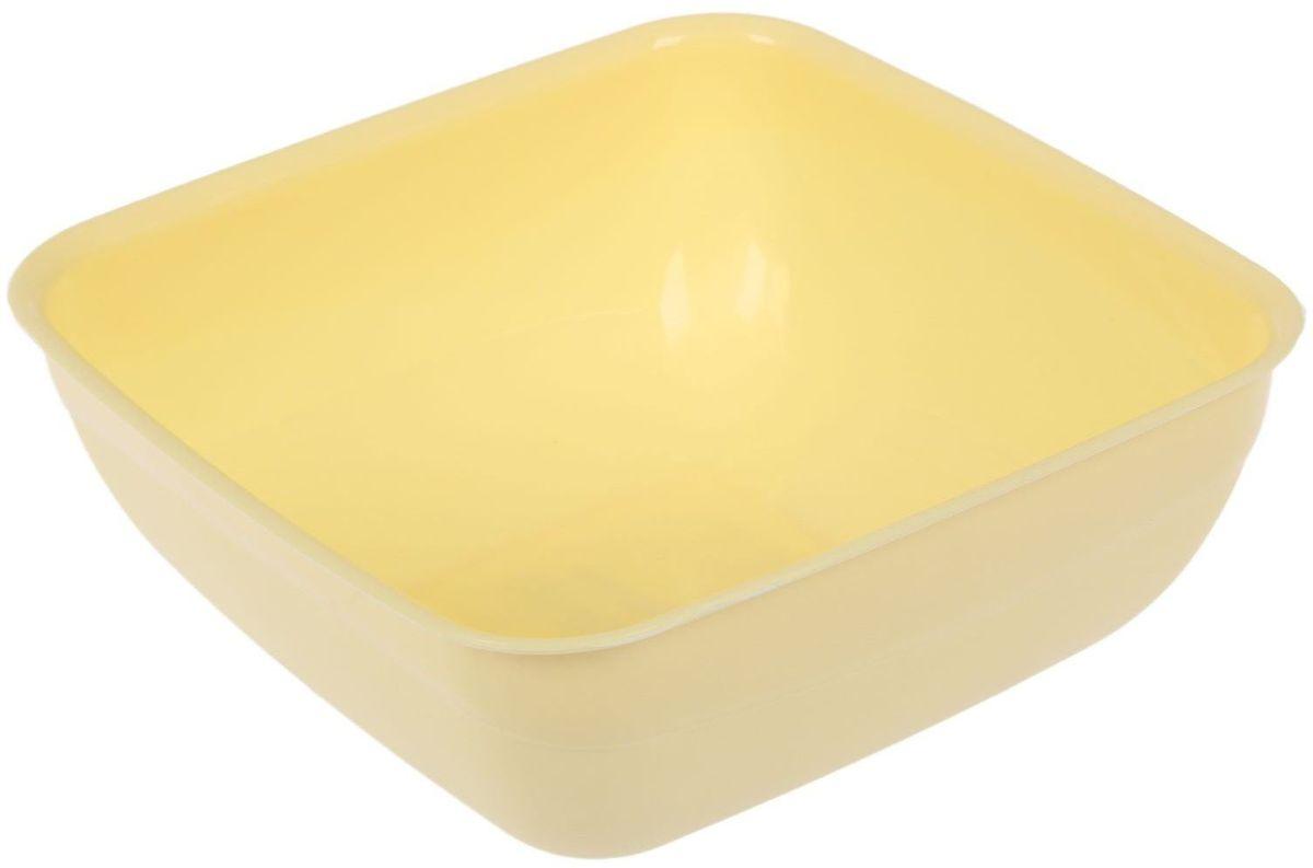 Салатник Fimako, цвет: лимонный, 1,25 л2331342Салатник Fimakoвыполнен из прочного пищевого пластика. Изделие отлично подойдет как для холодных, так и для горячих блюд. Его удобно использовать дома или на даче, брать с собой на пикники и в поездки. Отличный вариант для детских праздников. Такой салатник не разобьется и будет служить вам долгое время.С посудой и кухонной утварью Fimako приготовление еды и сервировка стола превратятся в настоящий праздник.
