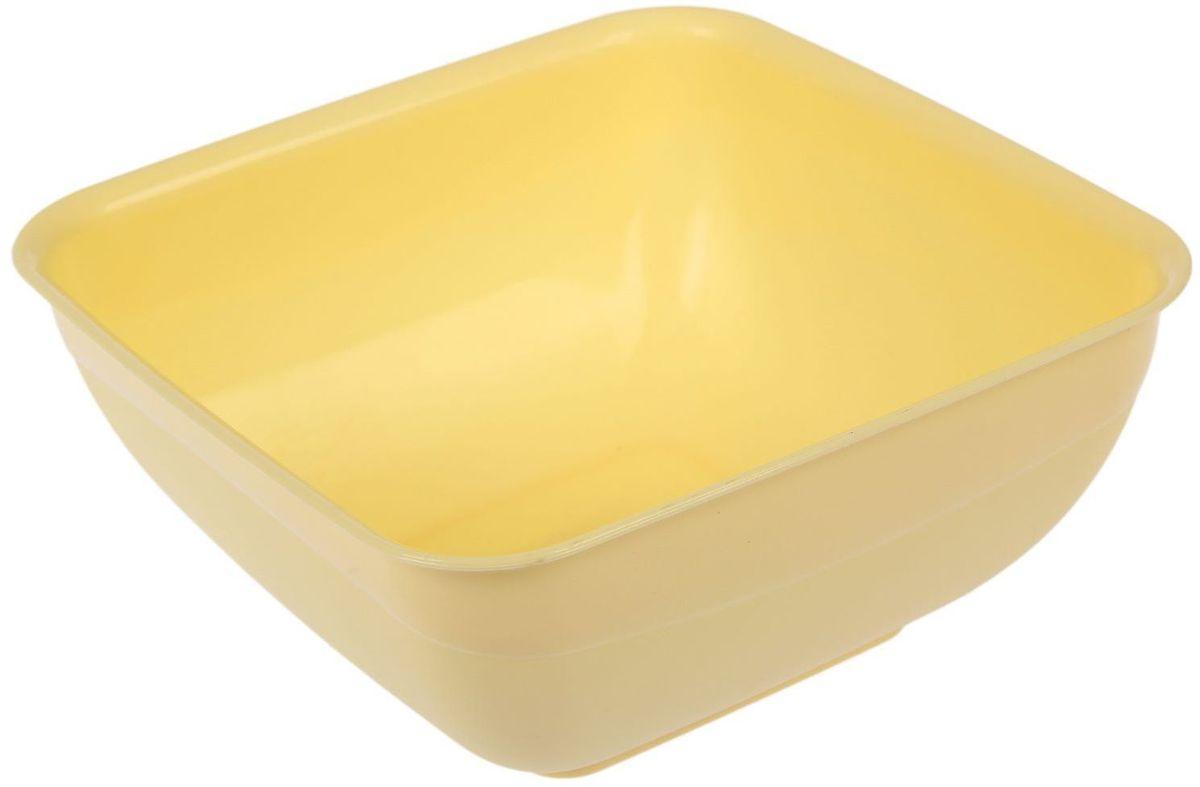 Салатник Fimako, цвет: лимонный, 2 л2331345Салатник Fimakoвыполнен из прочного пищевого пластика. Изделие отлично подойдет как для холодных, так и для горячих блюд. Его удобно использовать дома или на даче, брать с собой на пикники и в поездки. Отличный вариант для детских праздников. Такой салатник не разобьется и будет служить вам долгое время. С посудой и кухонной утварью Fimako приготовление еды и сервировка стола превратятся в настоящий праздник.