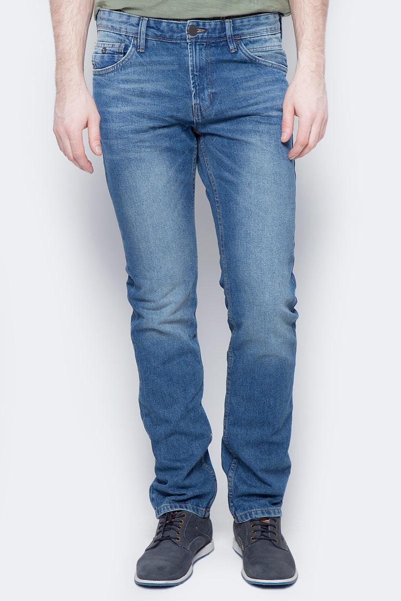 Джинсы мужские Tom Tailor Denim, цвет: синий. 6205614.62.12_1094. Размер 30-32 (46-32) джинсы мужские tom tailor denim цвет голубой 6204155 00 12 1062 размер 33 34 48 50 34