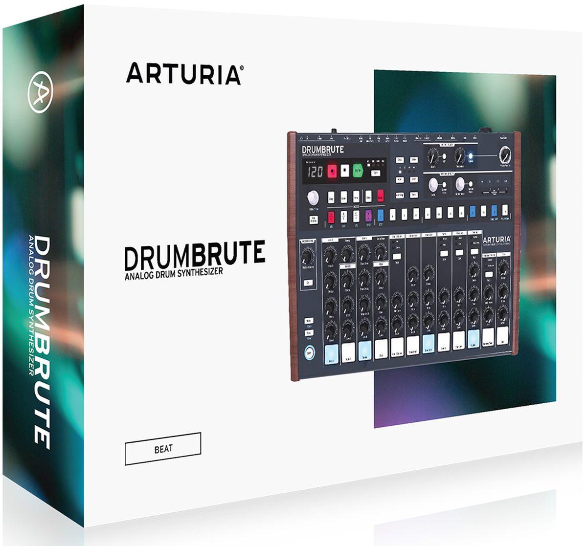 Arturia DrumBruteаналоговая драм-машина Arturia