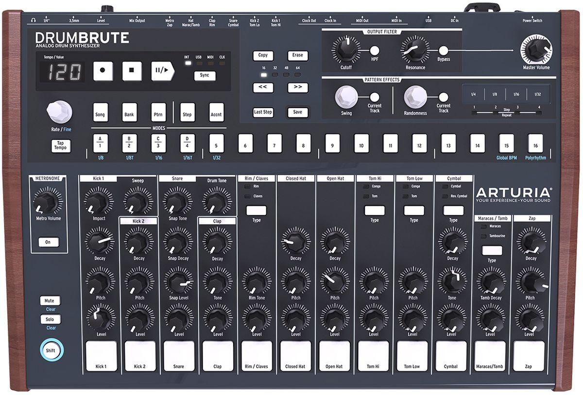 Arturia DrumBrute аналоговая драм-машина