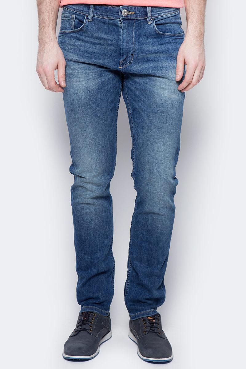 Джинсы мужские Tom Tailor, цвет: синий. 6205707.00.10_1052. Размер 33-34 (48/50-34) джинсы мужские tom tailor denim цвет голубой 6204155 00 12 1062 размер 33 34 48 50 34