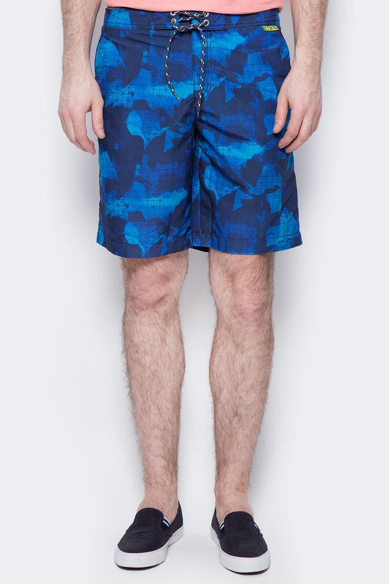 Шорты мужские Tom Tailor, цвет: синий, темно-синий. 6510284.00.10_6740. Размер S (46) джинсы мужские tom tailor цвет синий 6205177 01 10 1053 размер 29 34 44 46 34