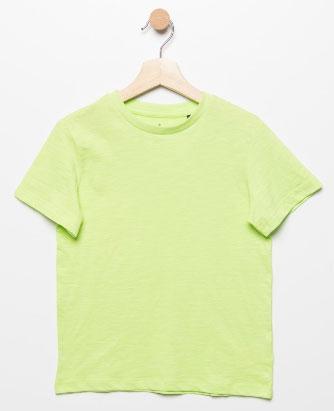 Футболка для мальчика Sela, цвет: зеленый. Ts-811/608-7224. Размер 122, 7 летTs-811/608-7224Стильная футболка для мальчика Sela изготовлена из натурального хлопка однотонного цвета. Воротник дополнен мягкой трикотажной резинкой. Универсальная модель позволит создавать комбинации, как в повседневном, так и в спортивном стиле.