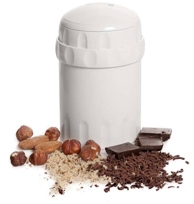 Status 150022, White измельчитель ручной150022Status 150022 подходит для ручного измельчения орехов, шоколада, сыра, сухарей. Две камеры позволяют одновременно измельчать и смешивать продукты, например, шоколад и орехи.Используйте крышку, чтобы закрыть измельчитель снизу, и орехи смогут храниться внутри измельчителя несколько дней.Можно мыть в посудомоечной машине.