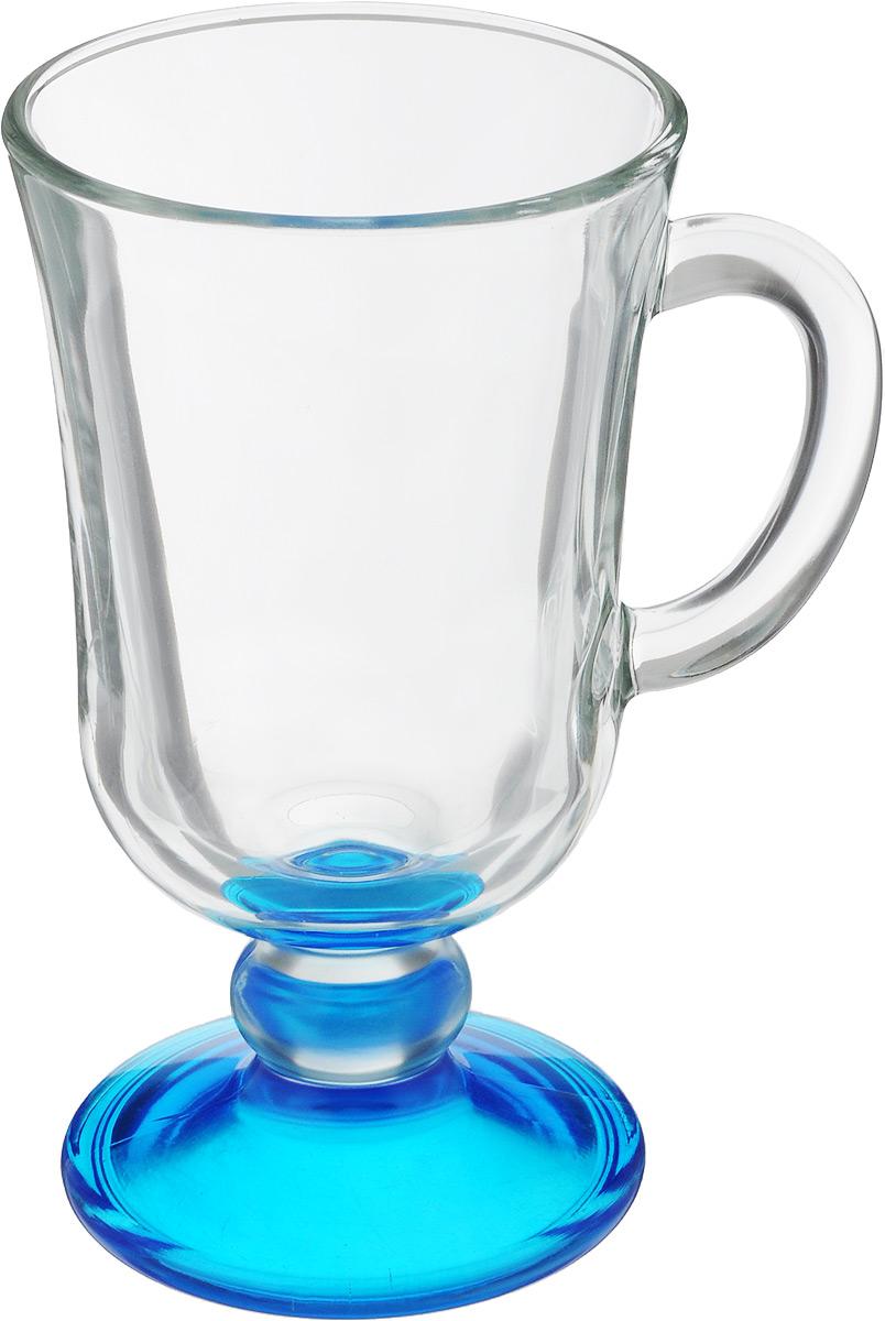 Кружка OSZ Глинтвейн, цвет: прозрачный, синий, 200 мл730657Кружка OSZ Глинтвейн изготовлена из стекла двух цветов. Изделие идеально подходит длясервировки стола.Кружка не только украсит ваш кухонный стол, но и подчеркнет прекрасныйвкус хозяйки. Диаметр кружки (по верхнему краю): 7,5 см. Высота ножки: 3,5 см.Высота кружки: 14 см. Объем кружки: 200 мл.