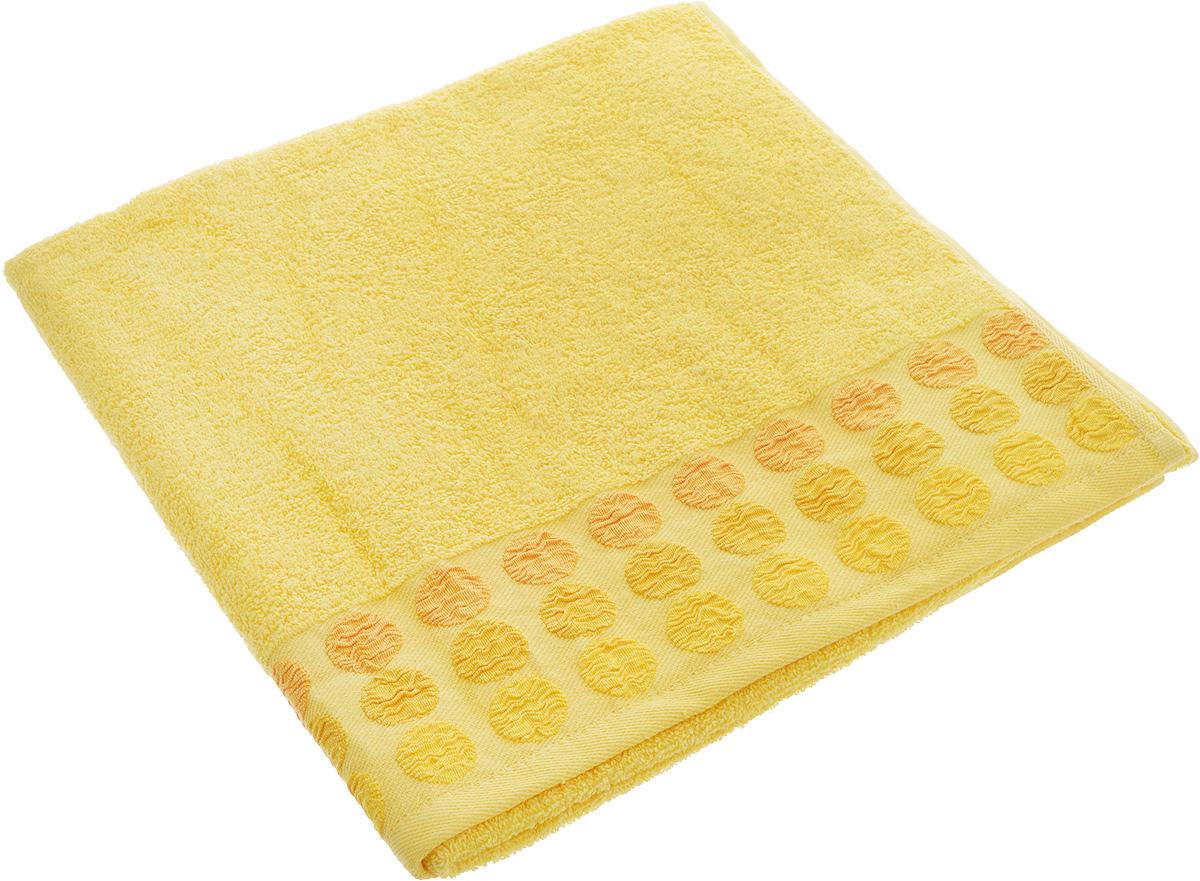 Полотенце Brielle Point, цвет: желтый, 70 х 140 см1208Полотенце Brielle Point выполнено из 100% хлопка. Изделие очень мягкое, оно отлично впитывает влагу, быстро сохнет, сохраняет яркость цвета и не теряет формы даже после многократных стирок. Полотенце оформлено оригинальной вышивкойПолотенце Brielle Point очень практично и неприхотливо в уходе. Оно послужит приятным подарком.