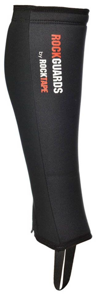 Защита голени Rocktape RockGuards, 2 шт. Размер L4259-BK-LЗащита голени Rocktape RockGuards защитит вас при лазании по канату и при выполнении других упражнений, при которых велика вероятность повреждения голени. Застежка на молнии облегчит использование защиты; лайкра, входящая в состав материала, обеспечит более плотное прилегание - защита останется на месте как при лазании, так и при беге.Дополнительный слой неопрена создает более мягкую защиту. Размеры: L - икры в обхвате 38 см и более.