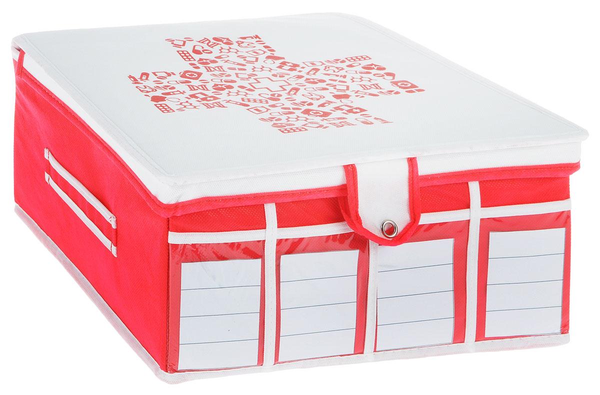 Аптечка домашняя Все на местах Comfort, универсальная, 32 х 32 х 15 см1010033Компактная складная аптечка с крышкой на кнопкеизготовлена из высококачественного нетканого материала, которыйобеспечивает естественную вентиляцию. Материалпозволяет воздуху свободно проникать внутрь, но непропускает пыль. Органайзер отлично держит форму,благодаря вставкам из ПВХ. Изделие имеет 30 секций для хранения лекарств.