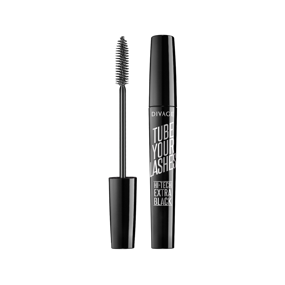 Divage Тушь Для Ресниц Tube Your Lashes - Тон Extra black № 01 туши divage тушь для ресниц mascara tube your lashes тон 04