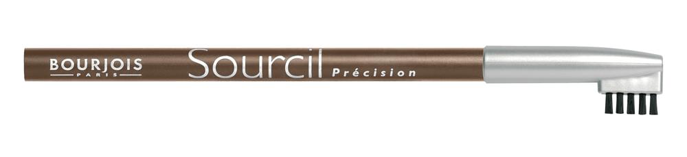 Bourjois Карандаш Для Бровей Контурный Sourcil Precision Тон 0429101344004Брови играют решающую роль в характере взгляда. Плотная текстура карандаша позволяет наполнить брови красивым, натуральным цветом. Идеальная щеточка придает бровям безупречный вид. Карандаш Sourcil Precision не растекается и позволяет при желании изменить форму брови.