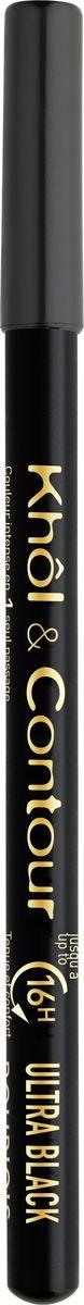 Bourjois Контурный Карандаш Для Макияжа Глаз Khol & Contour New 71 тон (ultra black) bourjois glamour ultra care отзывы