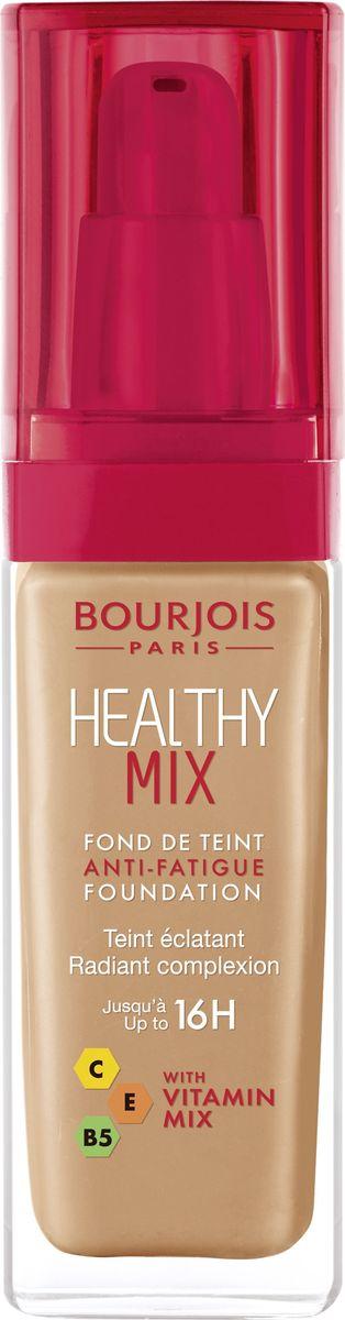 Bourjois Тональный Крем Healthy Mix Relaunch Тон 5629199601056Тональный крем Healthy Mix, обогащенный витаминами, скрывает следы усталости и несовершенства тона, усиливая естественное сияние.