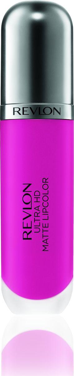 Revlon Помада Для Губ Ultra Hd Matte Lipcolor Spark 6507210753024Revlon Ultra HD™ Matte Lipcolor - бархатный цвет на твоих губах. Уникальная гелевая формула создает невесомую текстуру, а отсутствие воска сохраняет губы увлажненными и придает ощущение комфорта. Легкость нанесения, устойчивость и удобный апликатор – вот почему помада идеально ложиться на губы, придавая им яркий, насыщенный цвет и объем. Обладает приятным ароматом сливок, ванили и спелого манго. Доступен в 7 ярких, трендовых оттенках.Какая губная помада лучше. Статья OZON Гид