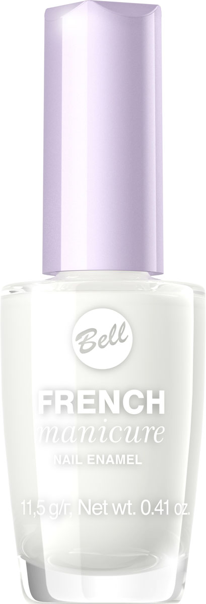 Bell Лак Для Ногтей Устойчивый Гипоаллергенный French Manicure Nail Тон 150060030Натуральный элегантный маникюр! French manicure от Bell - это наиболее простой и эффективный способ создания настоящего французского маникюра. Новейшая коллекция включает 12 деликатных оттенков: 6 из них обогащены серебристыми искорками, другие 5 придают ногтям матовый блеск.Как ухаживать за ногтями: советы эксперта. Статья OZON Гид