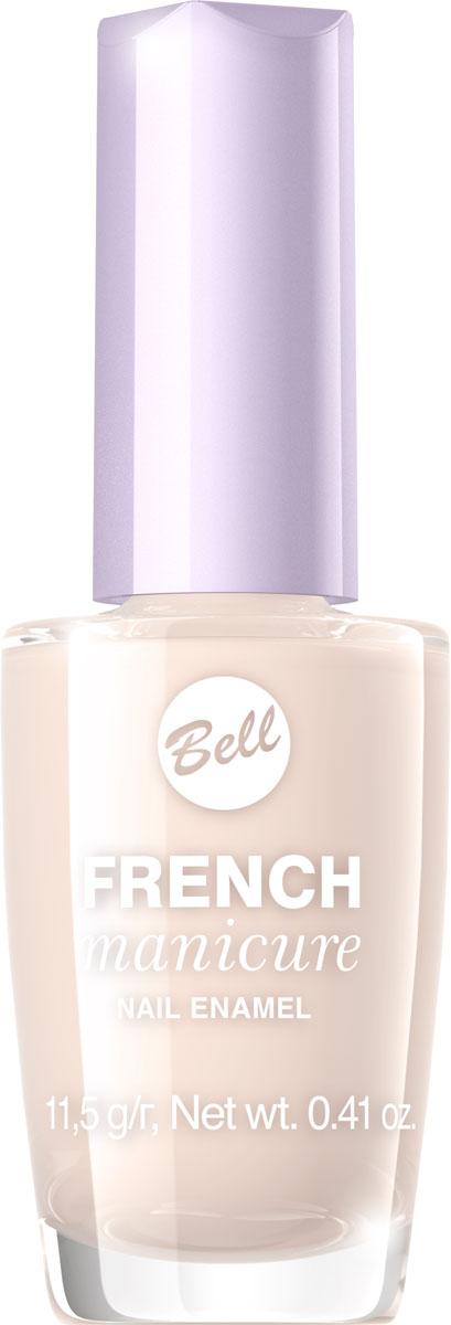 Bell Лак Для Ногтей Устойчивый Гипоаллергенный French Manicure Nail Тон 3BlfrFR003Натуральный элегантный маникюр! French manicure от Bell - это наиболее простой и эффективный способ создания настоящего французского маникюра. Новейшая коллекция включает 12 деликатных оттенков: 6 из них обогащены серебристыми искорками, другие 5 придают ногтям матовый блеск.Как ухаживать за ногтями: советы эксперта. Статья OZON Гид