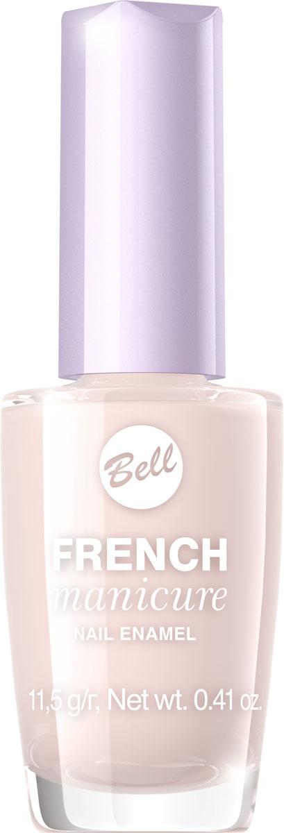 Bell Лак Для Ногтей Устойчивый Гипоаллергенный French Manicure Nail Тон 4BlfrFR004Натуральный элегантный маникюр! French manicure от Bell - это наиболее простой и эффективный способ создания настоящего французского маникюра. Новейшая коллекция включает 12 деликатных оттенков: 6 из них обогащены серебристыми искорками, другие 5 придают ногтям матовый блеск.