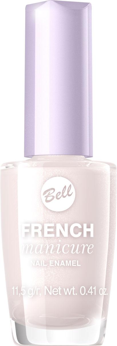 Bell Лак Для Ногтей Устойчивый Гипоаллергенный French Manicure Nail Тон 5BlfrFR005Натуральный элегантный маникюр! French manicure от Bell - это наиболее простой и эффективный способ создания настоящего французского маникюра. Новейшая коллекция включает 12 деликатных оттенков: 6 из них обогащены серебристыми искорками, другие 5 придают ногтям матовый блеск.
