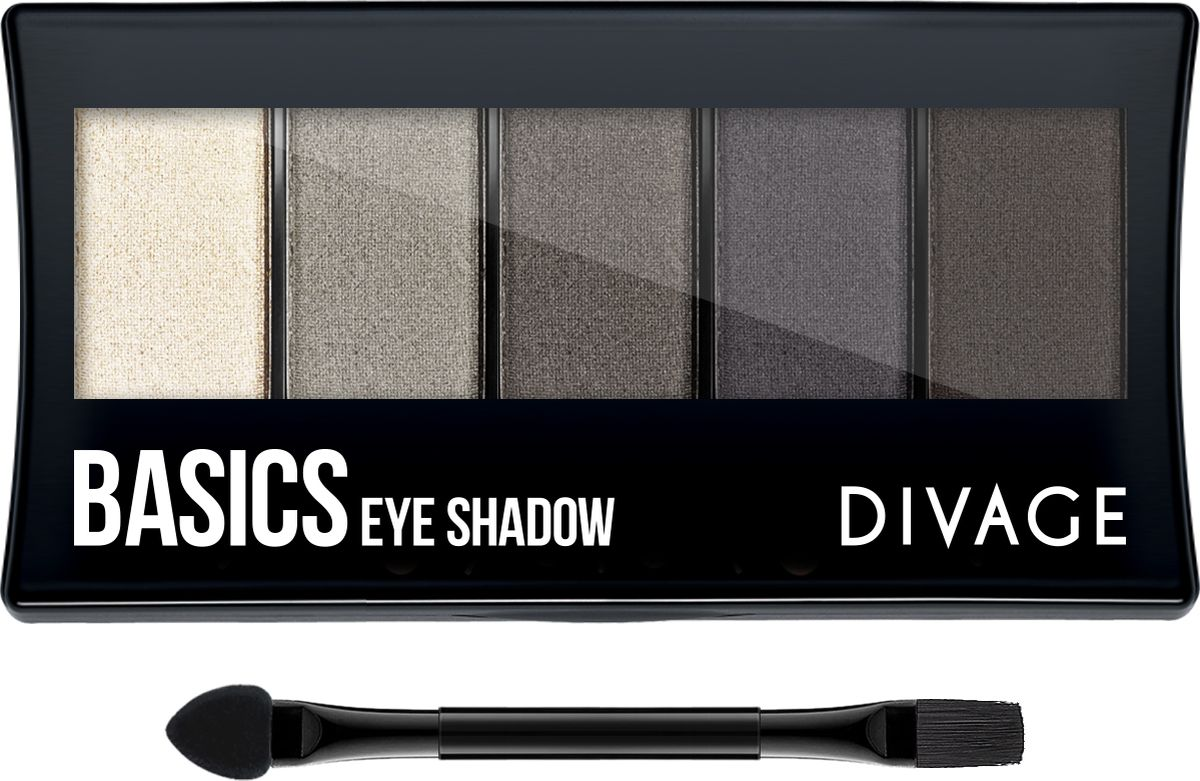 Divage Палетка Теней Для Век Palettes Eye Shadow - Тон Basics тени divage палетка теней для век palettes eye shadow товар midnight