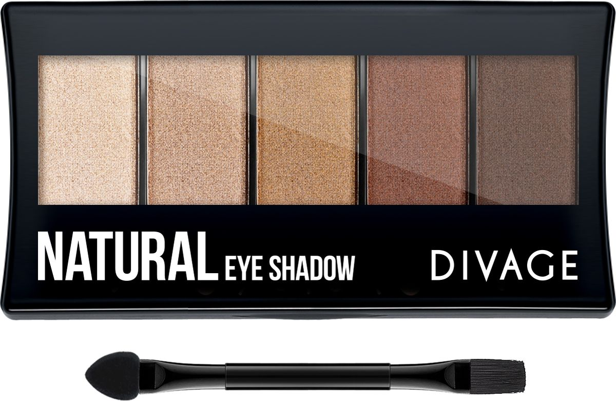 Divage Палетка Теней Для Век Palettes Eye Shadow - Тон Natural для глаз divage palettes eye shadow basics