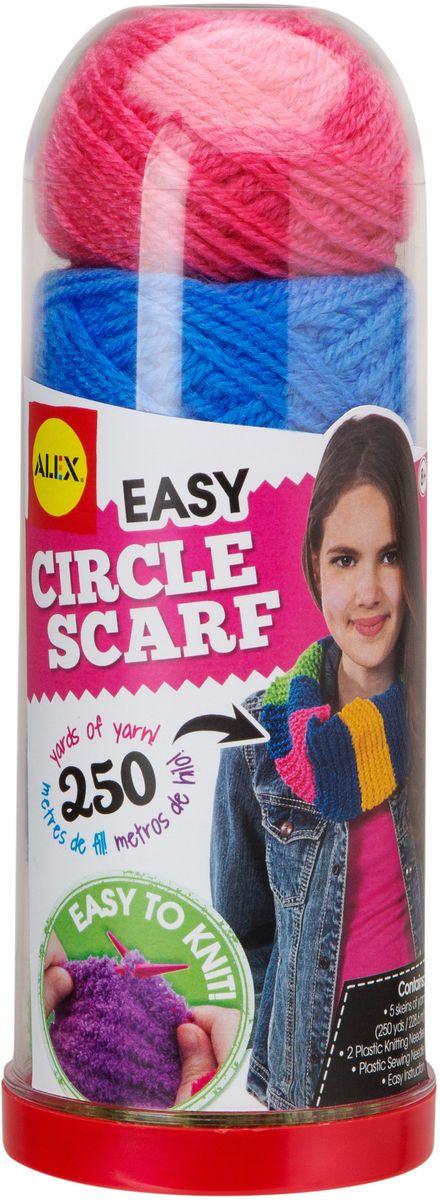 Alex Набор для вязания спицами Круговой шарф