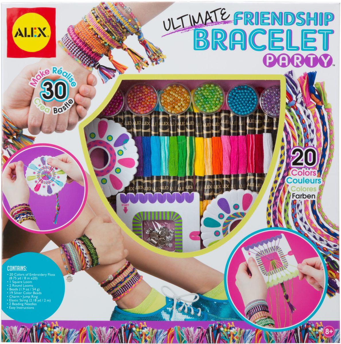 Alex Набор для плетения браслетов Друзья
