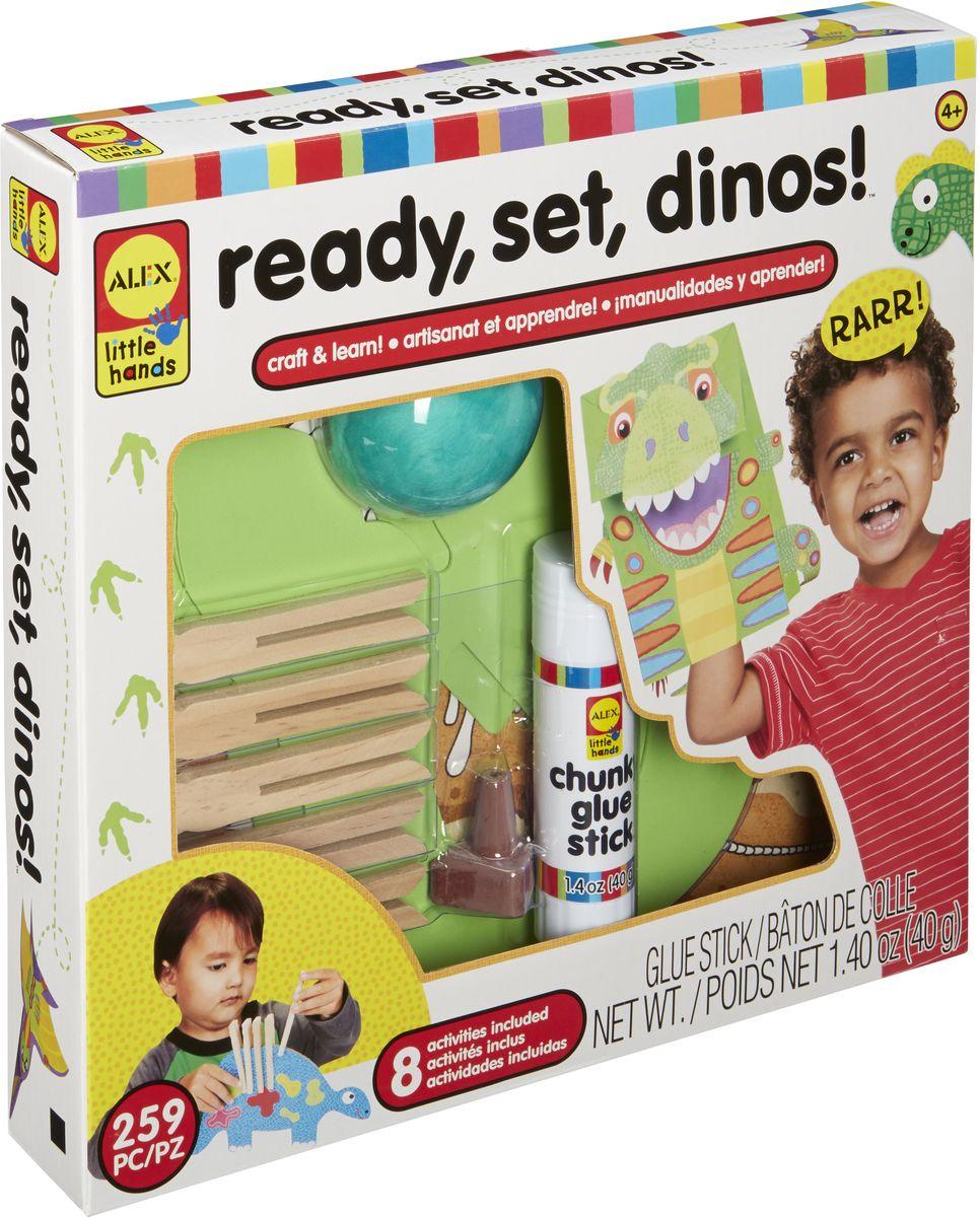 Alex Набор для изготовления игрушек Динозавры набор развивающий tolo toys динозавры
