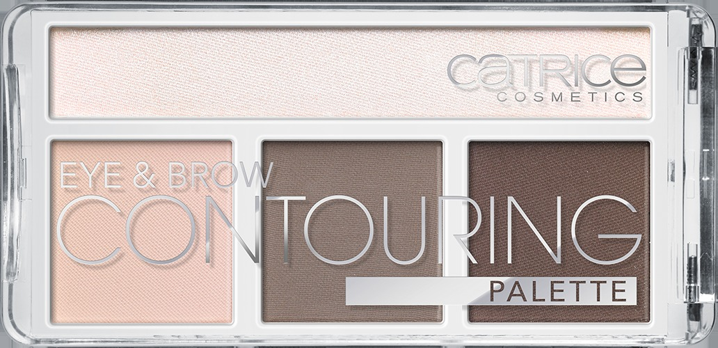 Catrice Палетка для контурирования век и бровей: тени, хайлайтер Eye & Brow Contouring Palette 010 But First, Cold Chocolate! Шоколад 9,5 гр для глаз catrice палетка для контурирования век и бровей eye