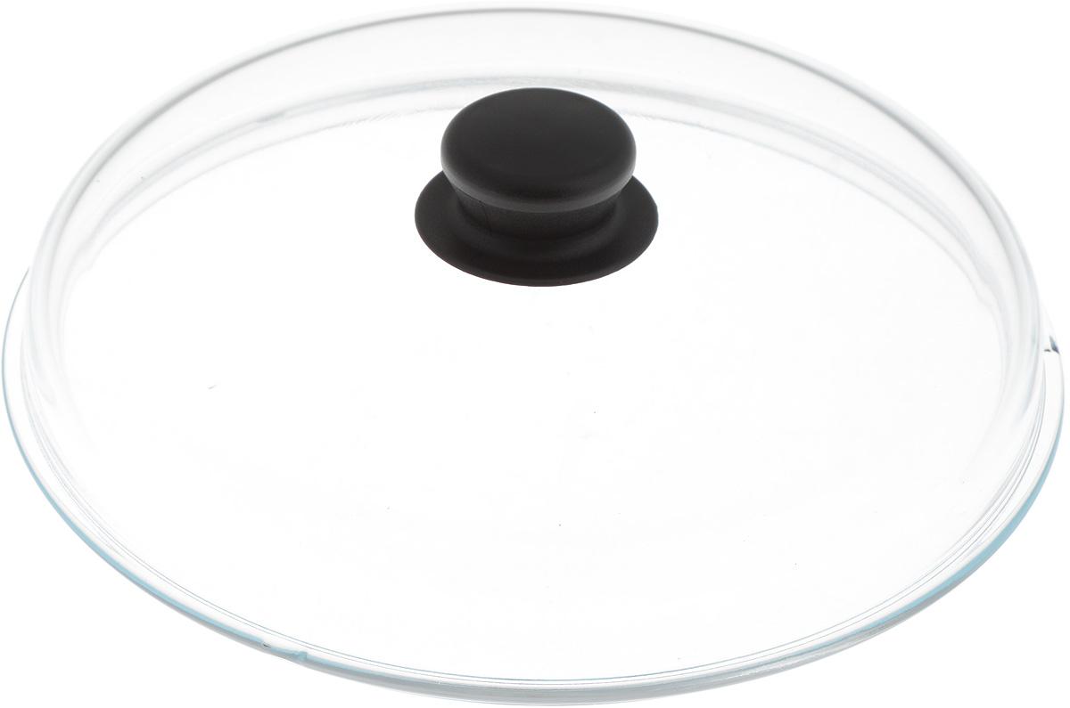 Крышка стеклянная Добрыня. Диаметр 26 смDO-4009Крышка Добрыня изготовлена из термостойкого и экологически чистого стекла. Крышка оснащена удобной ненагревающейся ручкой из пластика. Такая крышка позволит следить за процессом приготовления пищи без потери тепла. Она плотно прилегает к краям посуды, сохраняя аромат блюд. Выдерживает перепады температур от -40°С до +150°С. Можно мыть в посудомоечной машине. Изделие можно использовать в духовке без ручки.
