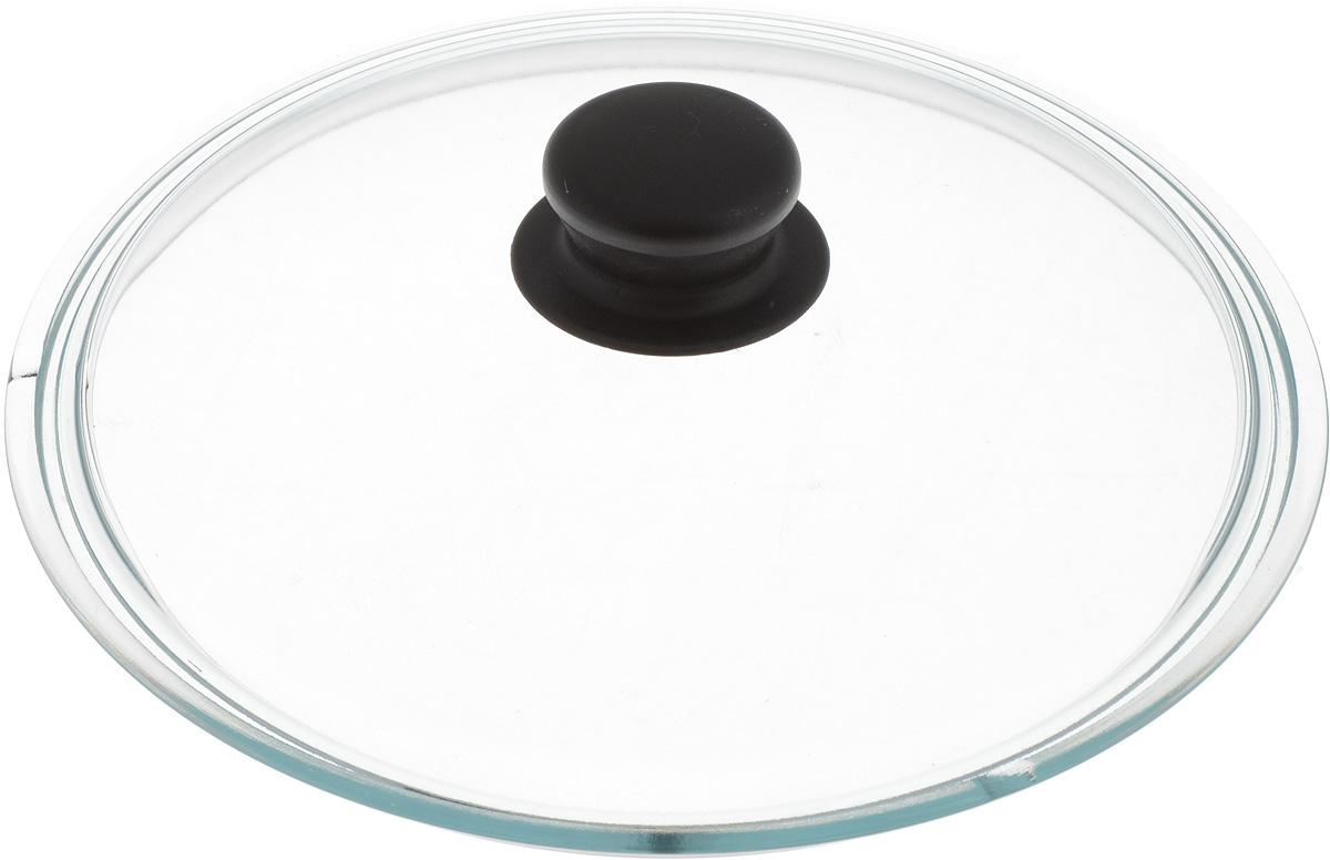 Крышка стеклянная Добрыня. Диаметр 24 см. DO-4003DO-4003Крышка Добрыня изготовлена из термостойкого и экологически чистого стекла. Крышка оснащена удобной ненагревающейся ручкой из пластика. Такая крышка позволит следить за процессом приготовления пищи без потери тепла. Она плотно прилегает к краям посуды, сохраняя аромат блюд. Выдерживает перепады температур от -40°С до +150°С. Можно мыть в посудомоечной машине. Изделие можно использовать в духовке без ручки.