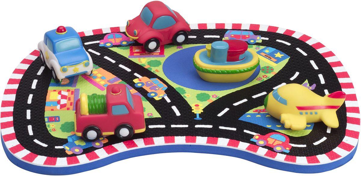 Alex Набор игрушек для ванной Гонки играем вместе набор игрушек для ванной корабль и самолет