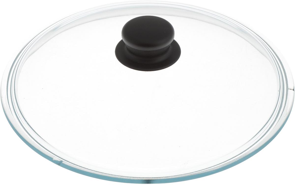 Крышка стеклянная Добрыня. Диаметр 26 см. DO-4004DO-4004Крышка Добрыня изготовлена из термостойкого и экологически чистого стекла. Крышка оснащена удобной ненагревающейся ручкой из пластика. Такая крышка позволит следить за процессом приготовления пищи без потери тепла. Она плотно прилегает к краям посуды, сохраняя аромат блюд. Выдерживает перепады температур от -40°С до +150°С. Можно мыть в посудомоечной машине. Изделие можно использовать в духовке без ручки.