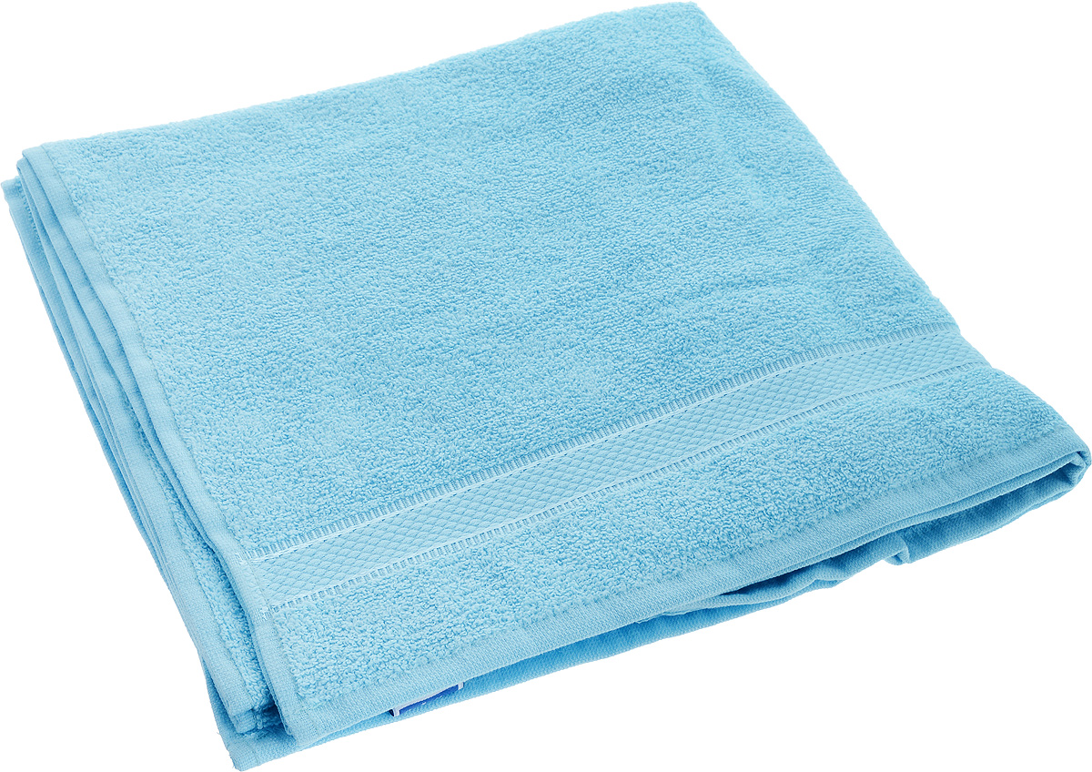 Полотенце Brielle Basic, цвет: голубой, 70 х 140 см1210Полотенце Brielle Basic выполнено из натурального хлопка.Изделие очень мягкое, оно отлично впитывает влагу, быстро сохнет, сохраняет яркость цвета и не теряет формы даже после многократных стирок. Полотенце Brielle Basic очень практично и неприхотливо в уходе. Такое полотенце послужит приятным подарком.