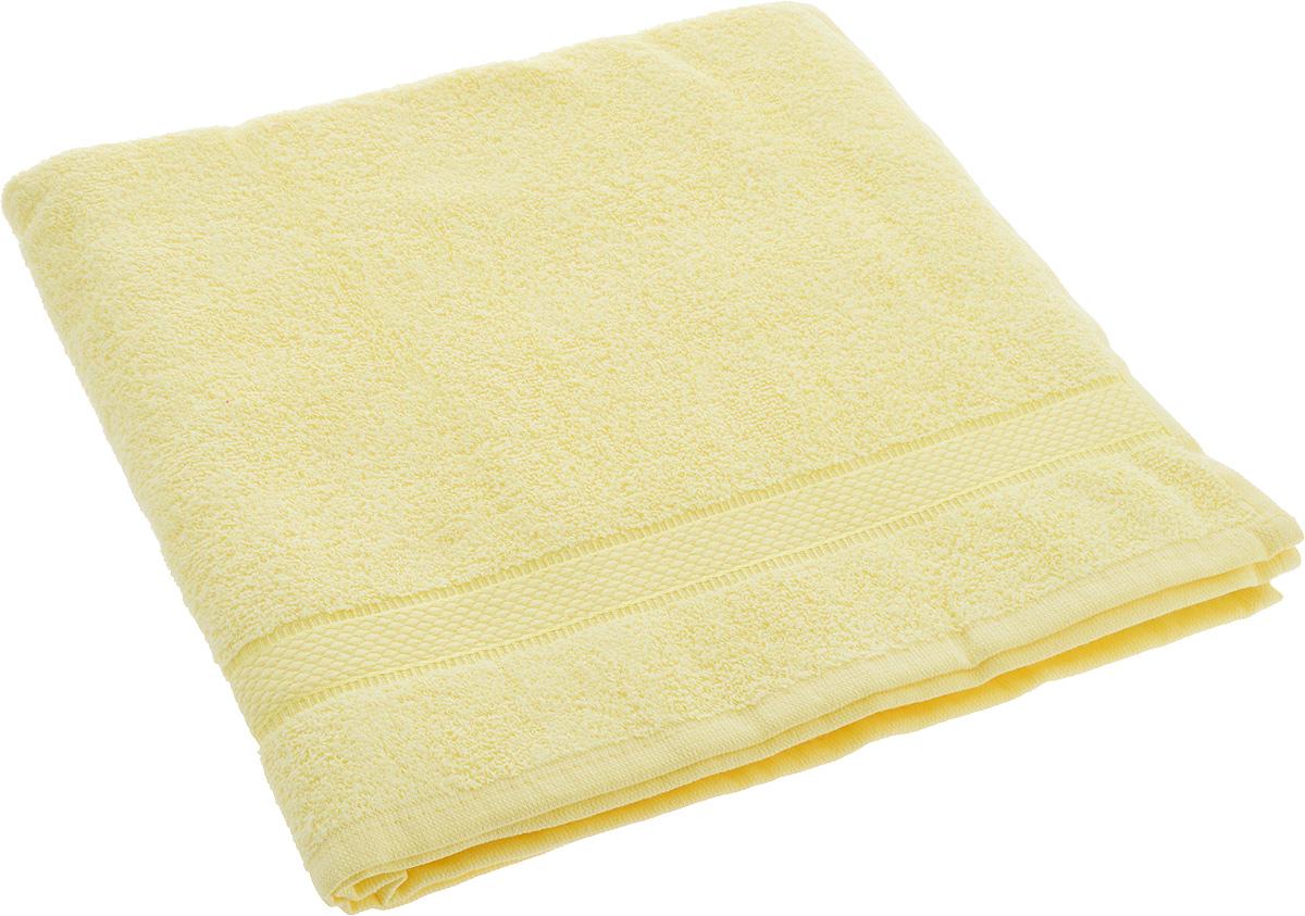 Полотенце Brielle Basic, цвет: желтый, 70 х 140 см1210Полотенце Brielle Basic выполнено из натурального хлопка.Изделие очень мягкое, оно отлично впитывает влагу, быстро сохнет, сохраняет яркость цвета и не теряет формы даже после многократных стирок. Полотенце Brielle Basic очень практично и неприхотливо в уходе. Такое полотенце послужит приятным подарком.