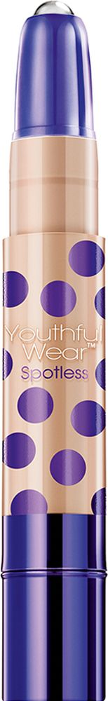 Physicians Formula Консилер На 10 лет моложе с ролл-аппликатором SPF15 Youthful Wear Spotless Concealer тон светлый/средний 4 г корректоры physicians formula консилер двухцветный с аппл concealer twins 2 in1 correct & cover cream concealer 6 8 г