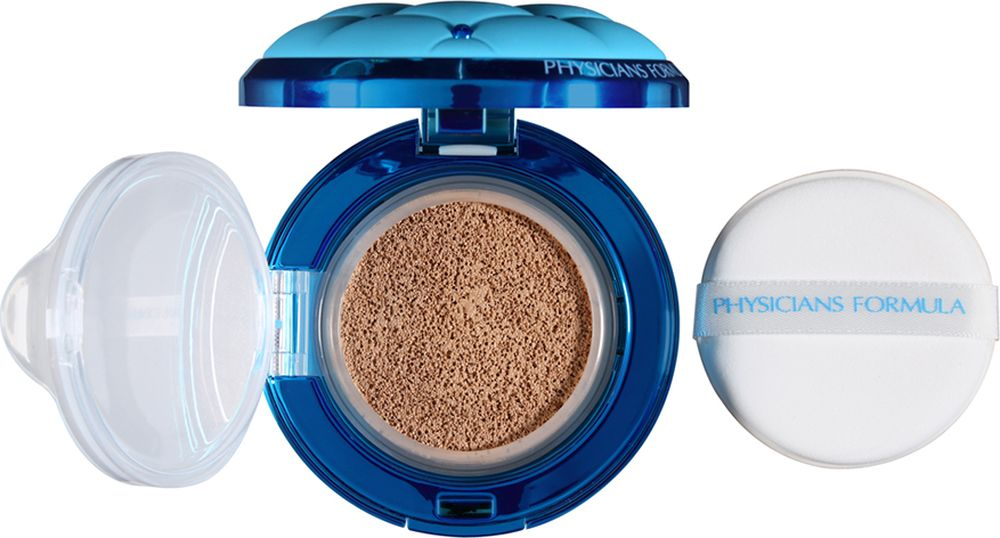 Physicians Formula Тональная основа кушон минеральная SPF 50 Mineral Wear Talc-Free All-in-1 Cushion Foundation тон светлый 14 мл 2015 new hot winter thicken warm woman down jacket coat parkas outerwear hooded splice mid long plus size 3xxxl luxury cold