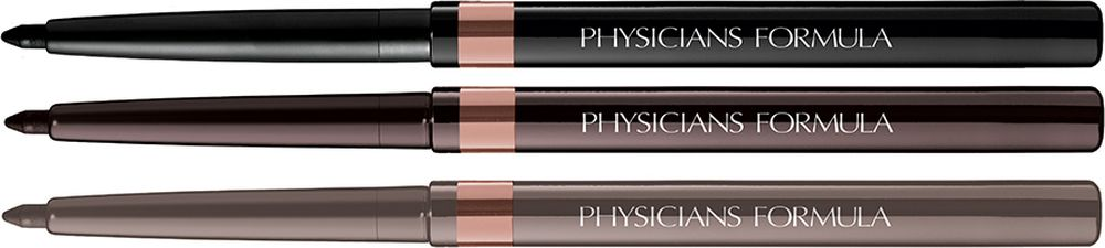 Physicians Formula Карандаши для век набор Shimmer Strips Custom Eye Enhancing Eyeliner Trio-Nude Eyes тон шампань олово черный 0.85 г long wear gel eyeliner подводка для век в баночке bronze shimmer