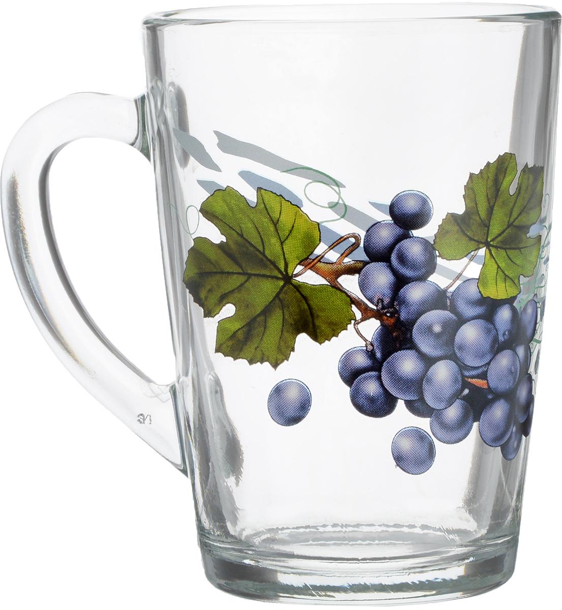 Кружка OSZ Капучино. Виноград, 300 мл. 07C1334-VN07C1334-VNКружка OSZ Капучино.Виноград, выполненная из стекла, украшена изображением грозди винограда. Изделие оснащено эргономичной ручкой. Кружка сочетает в себе оригинальный дизайн и функциональность. Она согреет вас долгими холодными вечерами. Диаметр кружки (по верхнему краю): 8 см. Высота кружки: 11 см.Объем: 300 мл.