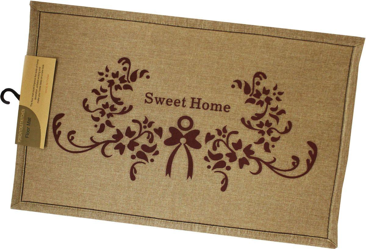 """Универсальный коврик """"Patricia"""" выполнен из резины и текстиля, он поможет защитить ваш дом от влаги и уличной грязи, к тому же, он легко очищается, его можно мыть."""