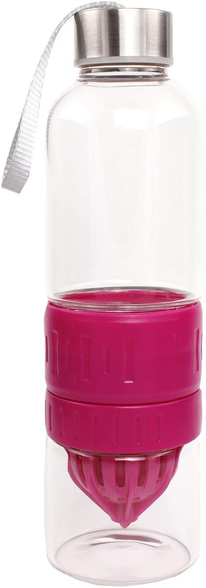 Бутылка для воды и приготовления напитков Patricia, цвет: красный, 600 мл. IM99-5419IM99-5419/красныйБутылка для воды и приготовления напитков Patricia - это бутылка, которая позволяет готовить и хранить различные напитки. Емкость состоит из двух частей: чтобы добавить напитку свежести, положите лед или фрукты в нижнюю съемную часть бутылки. Бутылку также можно использовать для приготовления спортивных коктейлей.Изделие изготовлено из стекла и пластика и легко разбирается и собирается. Можно использовать в посудомоечной машине.Размеры:- нижняя часть банки для содержания напитков: высота 7 см, D = 5 см, объем 170 мл;- бутылка для воды: высота 24 см, D = 6,5, объем 600 мл.